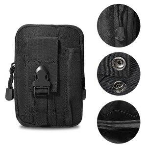 Тактический универсальный чехол-Кобура в стиле милитари, Сумка с поясом на бедра и талию, сумка-кошелек, чехол на молнии для телефона