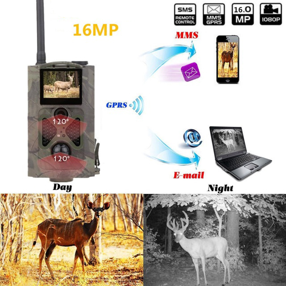 3G Hunting Camera Chasse Camera Photo Traps HD 16MP MMS SMS GSM 940nm Infrared  Night Vision Wild Camera For Hunter Kamera Cam цены