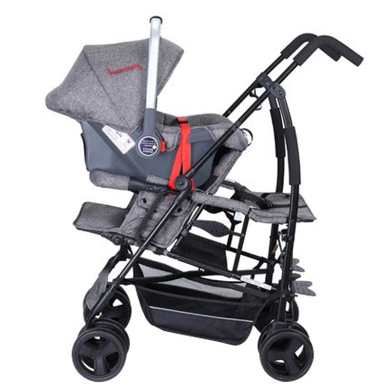 Portable Newborn Baby Stroller 3 In 1 Car Seat Stroller Kinderwagon Infant Carrier Child Safety Seat Newborn Car