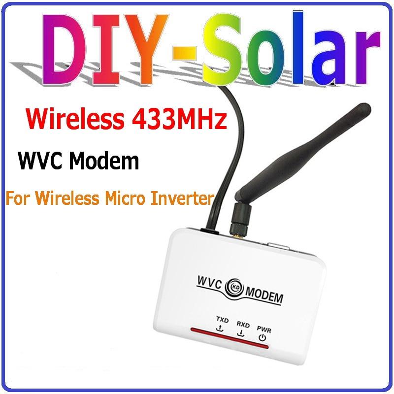Communication Monitoring Equipment wireless wifi Modem used for WVC MPPT Grid Tie Inverters 260W, 295W, 300W, 600W, 1200W, etc