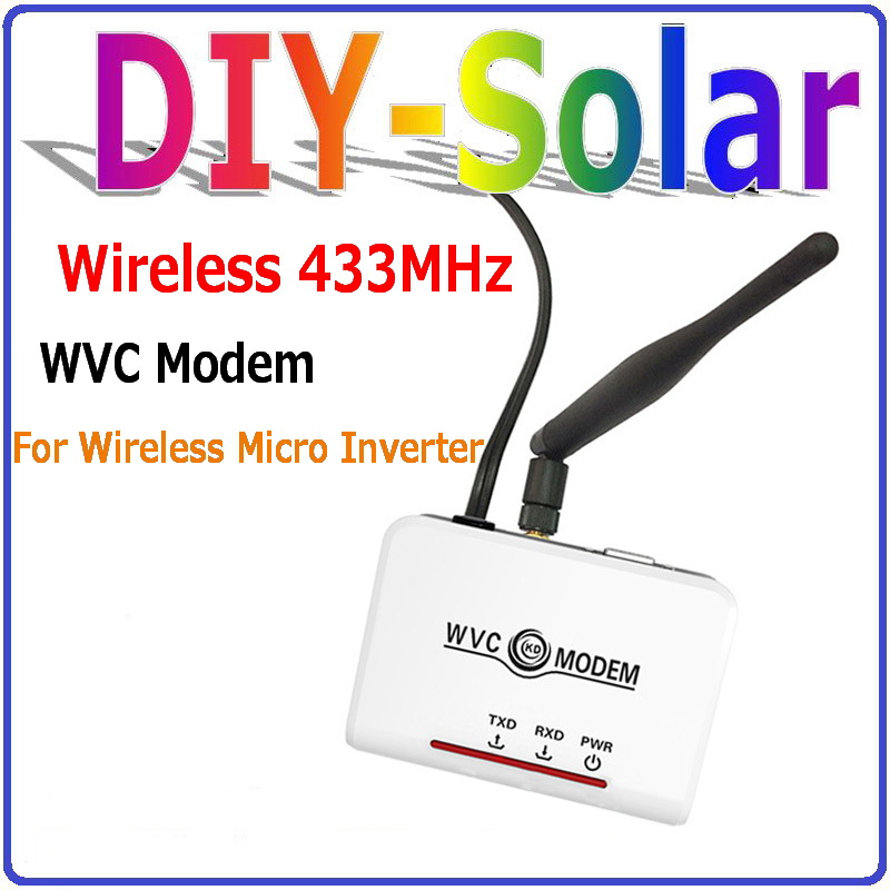 Communication Monitoring Equipments(Modem+Filter+Software) for WVC MPPT Grid Tie Inverters 260W, 295W, 300W, 600W, 1200W, etc