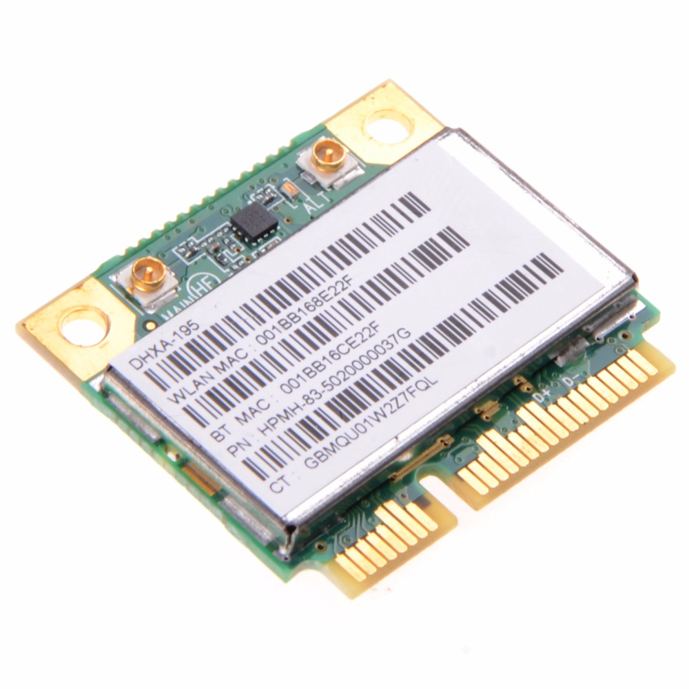 Wireless Notebook Network Cards Bluetooth Combo Card Fit For AR5B195 AR9002WB Wifi AR3011 BT3.0 Laptop Network Cards VC981 P30