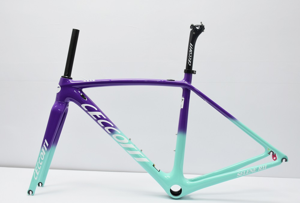 DC011 2019  Carbon Bike Frame Toray T800  Mechanical Both Cheap Carbon Frame Road Bike Tapered 2 Years Warranty