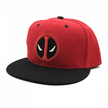 413b52e1bfb Fashion Comic Marvel Deadpool Hat Snapback Bone Aba Reta Costumes Cotton  Baseball For Men Women Sports