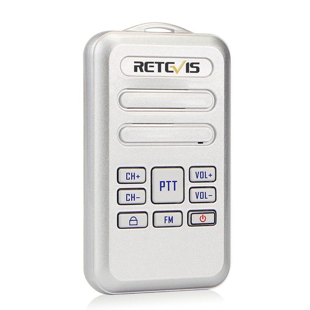 Tragbares Audio & Video Retevis Rt20 Mini 2 Watt Fm Radio Handheld Intercom Durable Wiederaufladbare Walkie Talkie Uhf 400-470 Mhz 16 Kanäle Vox Ptt Sprech