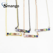 5Pieces, The Rainbow Series ,Women Fashion  Strip Shape Necklace and Pendant, 4 Colors,Can Wholesale