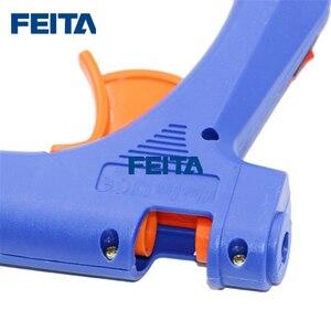 Image 4 - Feita 20 w eu 플러그 핫멜트 접착제 총 전문 고온 히터 수리 열 도구 pistolet 1 pc 접착제 스틱과 colle