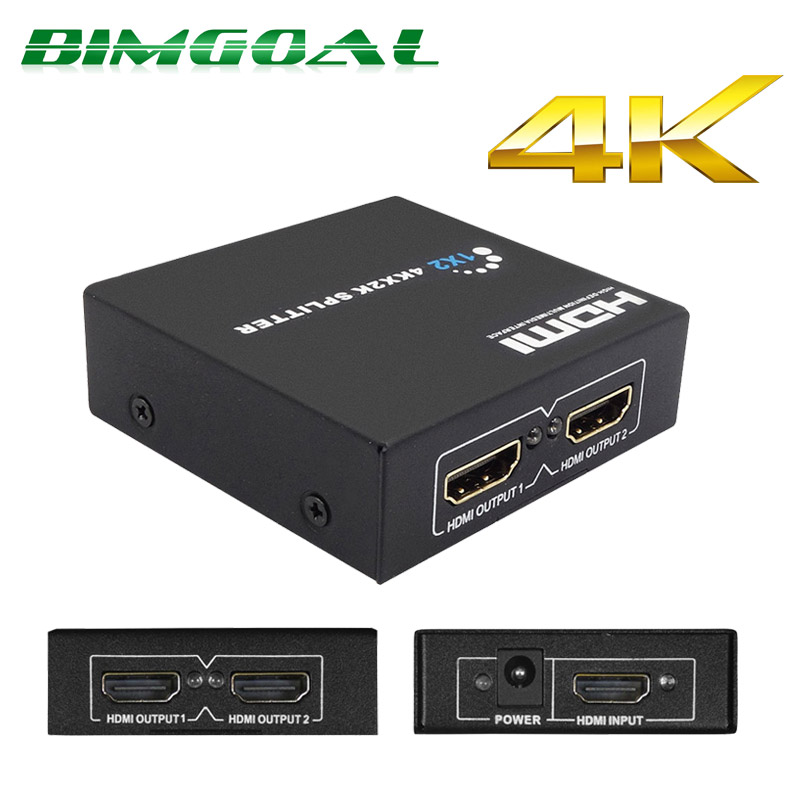 BIMGOAL 4 input 1 output HDMI Switch Switcher HDMI Splitter HDMI Cable with Audio for XBOX