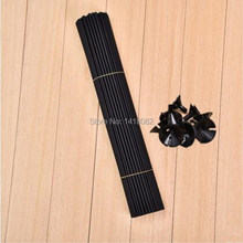 2016 balloon stick 50pcs/lot Black white  Colour 40cm balloons PVC rods for support accessories globos party