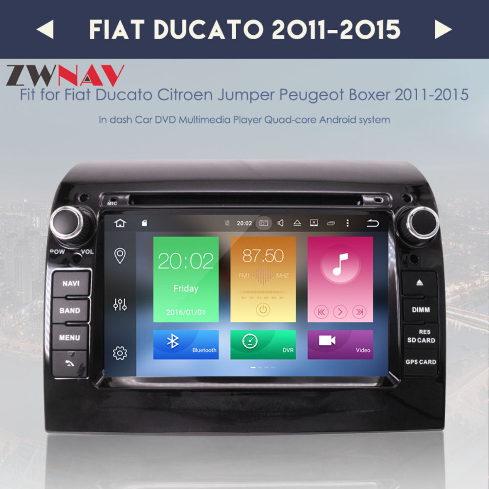 Rewelacyjny Newest Android 8.0 7.1 Car DVD Player GPS Navigation For FIAT YP32
