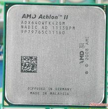 Free shipping AMD Athlon II X4 640 3GHz AM3 938-pin Processor Dual-Core 2M Cache 45nm Desktop CPU scrattered pieces