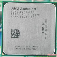 Free shipping AMD Athlon II X4 640 3GHz AM3 938-pin Processor Dual-Core 2M Cache 45nm Desktop CPU scrattered pieces