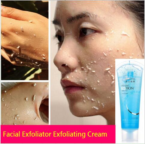 5pcs Beauty Face Scrub Body Exfoliating Gel Dead Skin Remover Whitening Moist Deep Cleasing Skin Care Product 120ML