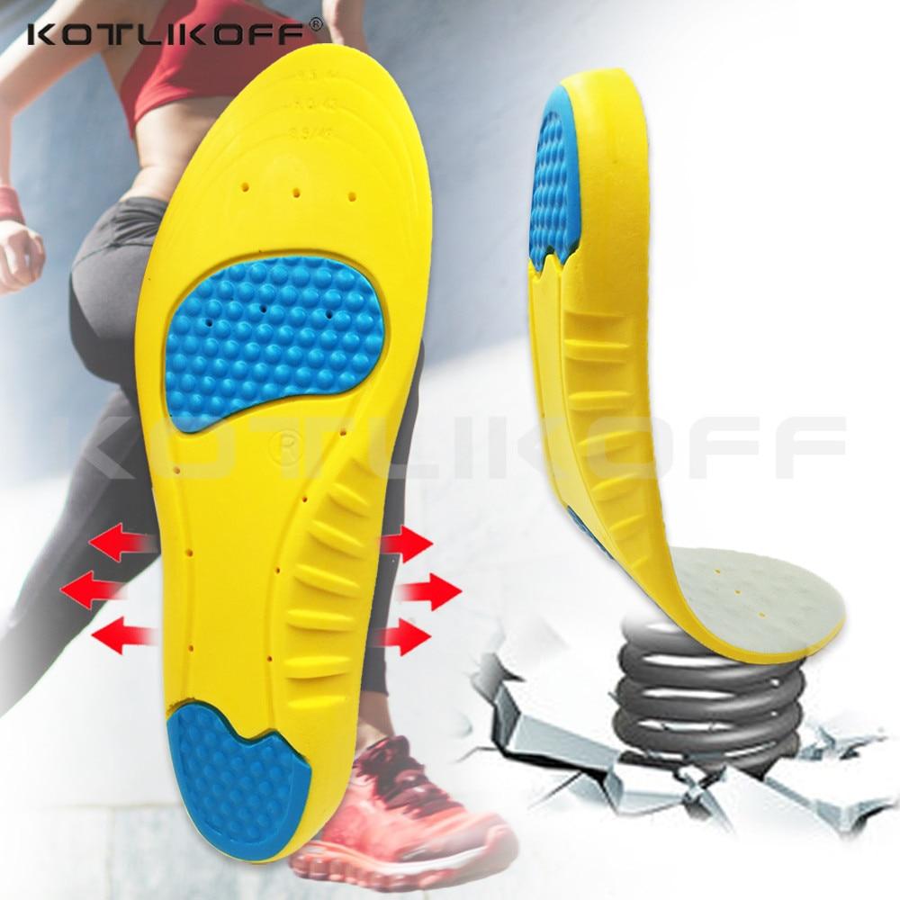 KOTLIKOFF PU silikoongeel Sport sisetallad Running Massaaži - Jalatsitarvikud