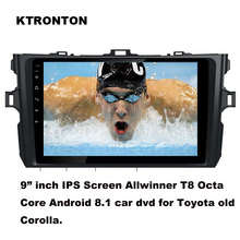 Updated ! T8 Octa-core Android 8.1 Car DVD Player for Toyota Old corolla 2007-2013 With GPS Radio BT Wifi DVR OBD 2G RAM 32G ROM все цены