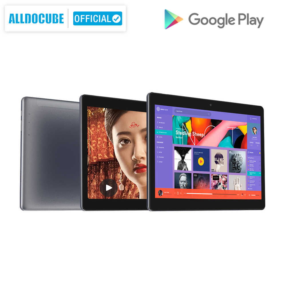 ALLDOCUBE M5XS Android Tablet 4G LTE 10.1 inch MTK X27 10 Core Phone Call Tablets PC 1920*1200 IPS 3GB RAM 32GB ROM GPS Dual SIM