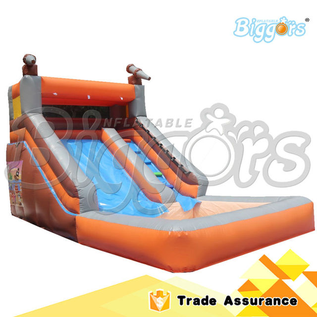 Inflatable Biggors Commercial Inflatable Water Slide Inflatable Slide with Water Pool for Kids Shipping by Sea