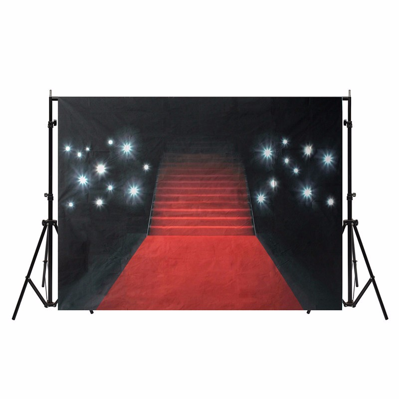 7x5ft Thin Vinyl Photography Background Red Carpet Photographic Backdrop for Studio Photo Props Cloth 1.5X2.1m waterproof natural landscape golden leaves vinyl digital cloth photographic backdrop for photo studio photography background props s 647