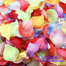 144pcs/Lot Artificial Simulation Non-woven Rose Flowers Petals for birthday Party Wedding Decoration Festival Decor Accessories