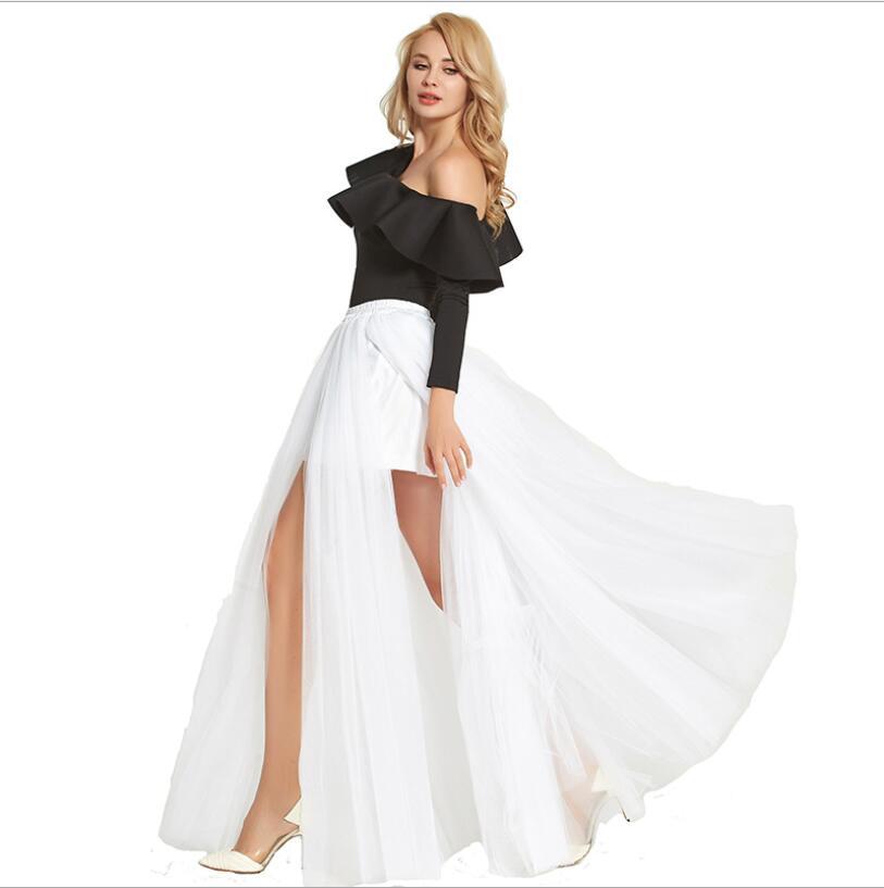 Unidos 4 Los Mullido Sexy Leggings Suelo Vestido blanco Noche Dama 13 Estados Hasta De 1 El Falda 18 Nuevo Y Malla Europa Honor xUqnpp