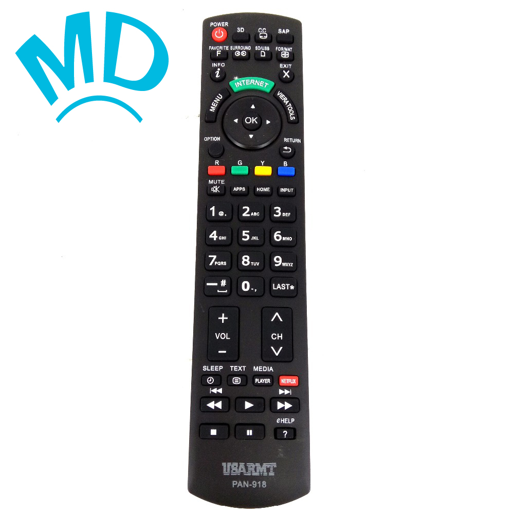 New universal Remote control PAN-918 For Panasonic TV With N