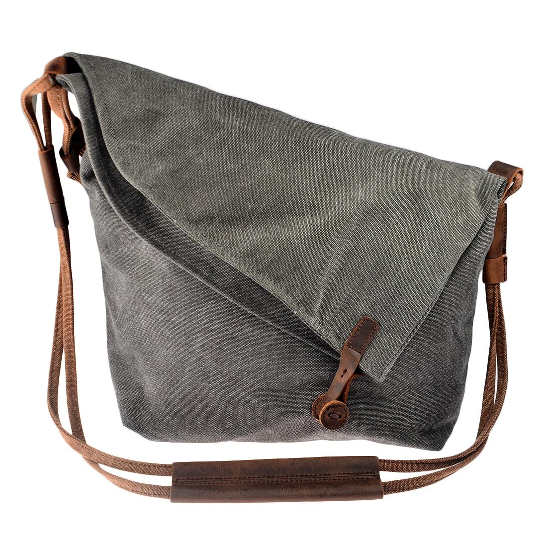 727c4f5e79ef Best Women Bag Cross Body Vintage Casual Crazy Horse Leather Canvas Crossbody  Bags Messenger Shouder Bag Ladies Bolsa Feminina Girls Reviews