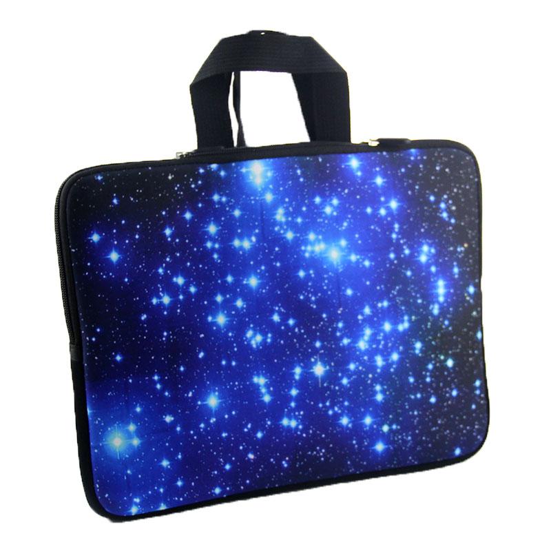 Sinine Galaxy sülearvuti kott tõmblukuga neopreenist sülearvuti - Sülearvutite tarvikud - Foto 4