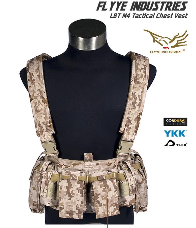 FLYYE LBT M4 Tactical Chest Vest VT C008