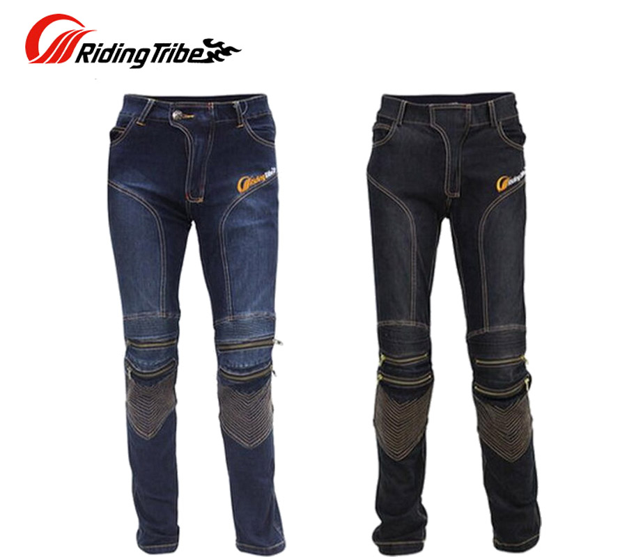 цены 2017 New Riding Tribe Motorcycle Jeans Male Motorcycle Ride Pants Spring Summer Cross trousers Motorbike Racing Pant of cotton