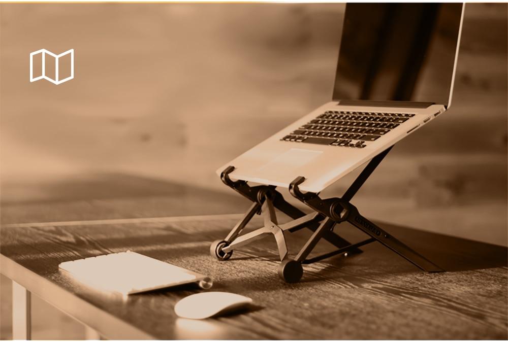 NEXSTAND K2 портативная Регулируемая подставка для ноутбука складной Эргономичный держатель для ноутбука офисная подставка для ноутбука