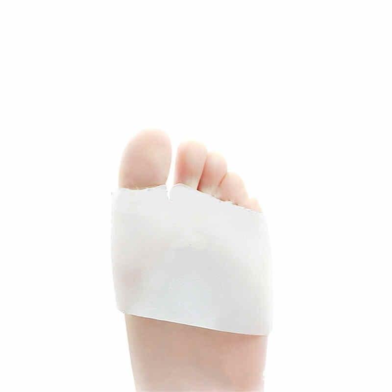1 пара силиконовых гелей с острым носком, унисекс, мягкие защитные накладки для ног, для пуантных балетных туфель, эластичные накладки, облегчающие боль