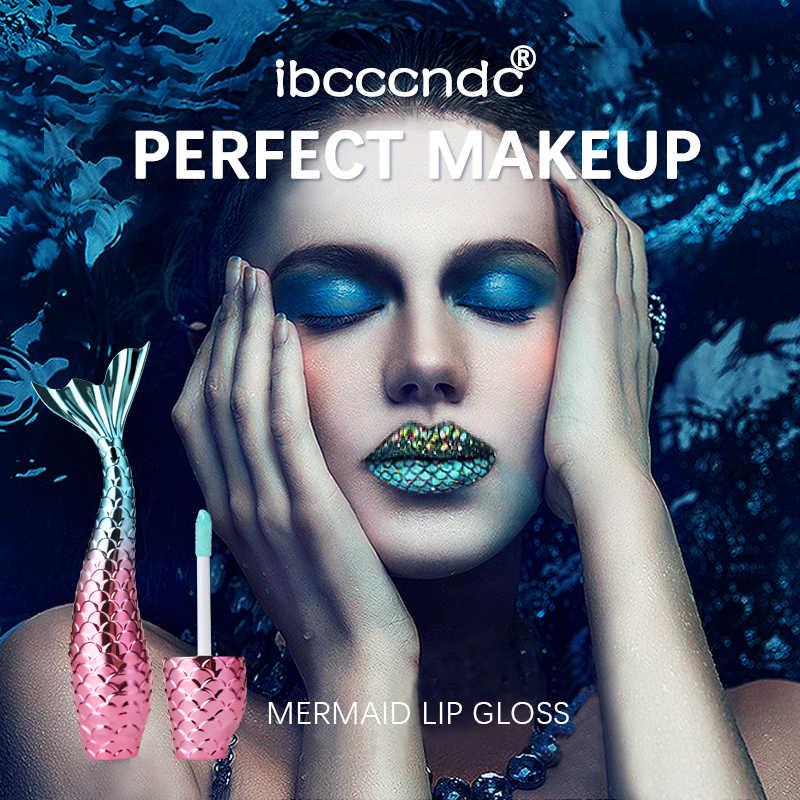 Yeni 20 renkler Mermaid dudak parlatıcısı su geçirmez mat sıvı ruj Metal dudak parlatıcısı kozmetik makyaj seksi çıplak mor kırmızı dudaklar