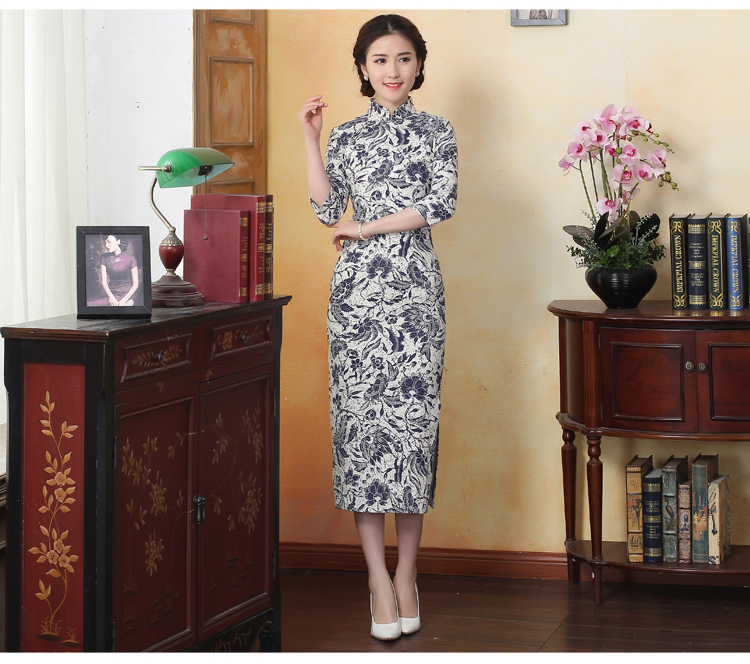 Traditional Chinese Clothing Lovely 2018 New High Fashion Silk Satin Rayon Cheongsam Chinese Classic Womens Qipao Elegant Half Sleeve Novelty Short Dress In Pain