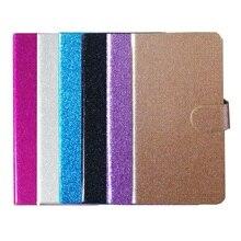 Для HiSense U972 Сияющий Bling PU Leather Case Крышка карт бумажника 6 Цвет телефон случаях Аксессуары