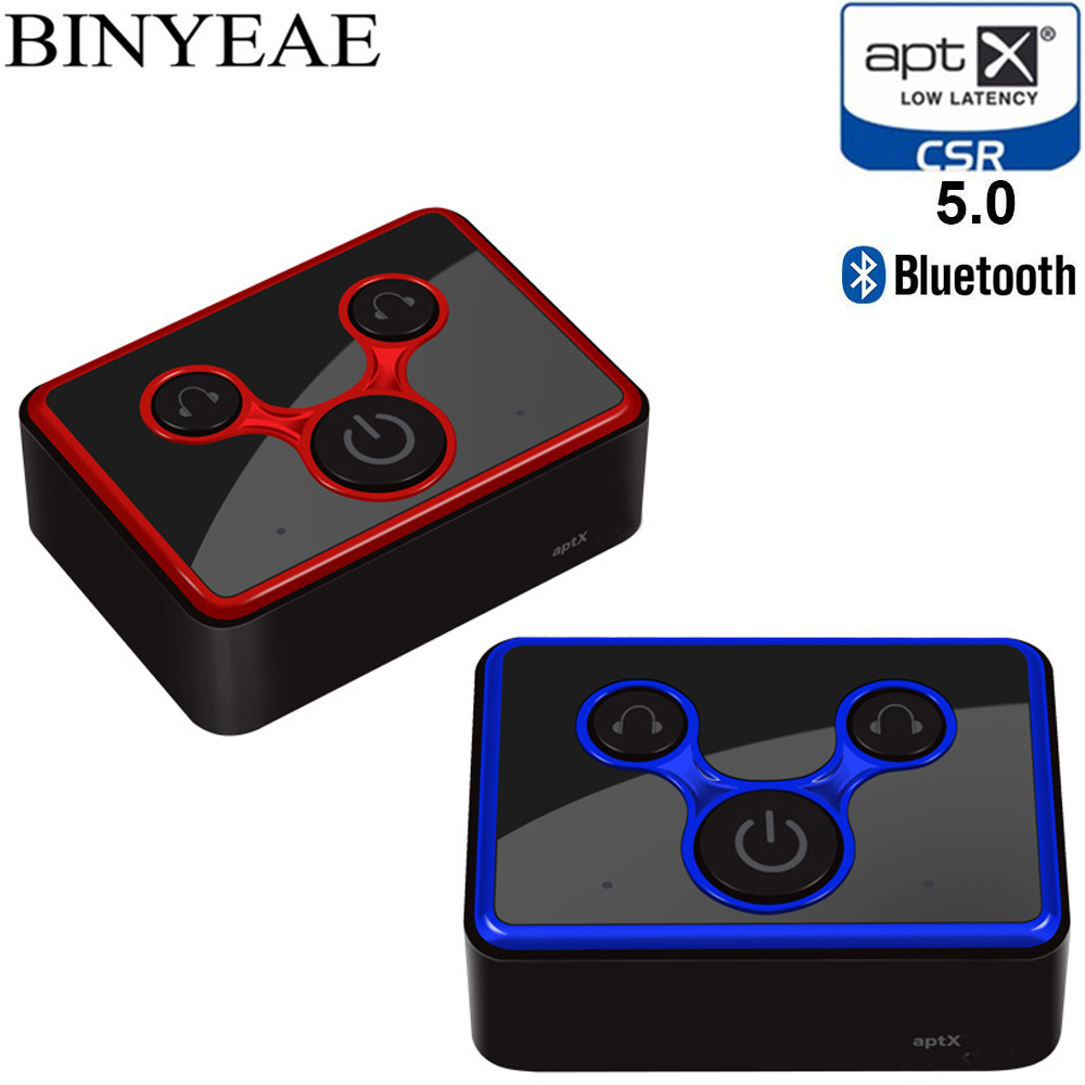 GüNstiger Verkauf Bluetooth 4,1 Aptx Niedrigen Latenz Spdif Toslink Optische Musik Sender Splitter Mini A2dp Wireless Home Stereo Audio Tv Adapter Neueste Technik Unterhaltungselektronik