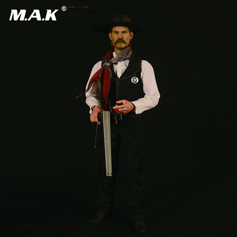 1/6 Scale Tombstone The Cowboy Deputy Town Marshal Full Set Action Figure for Collections Gifts Toys стоимость