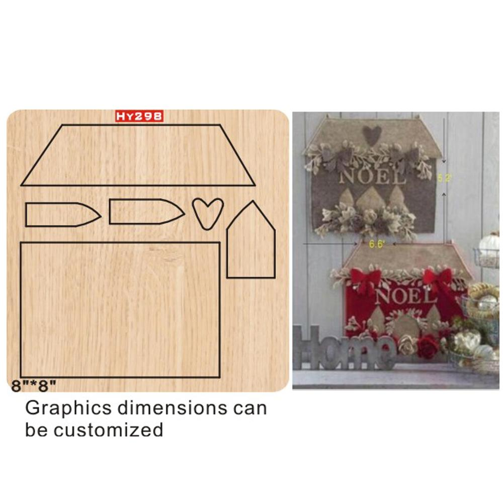 House  Cutting Dies 2019 Die Cut & Wooden Dies Suitable  For Common Die Cutting  Machines On The Market