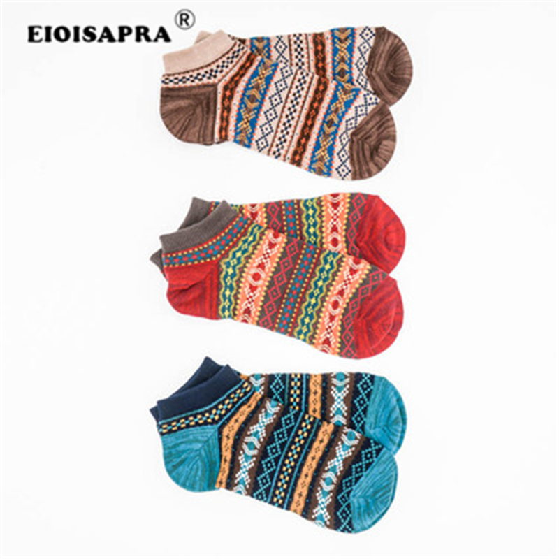 [EIOISAPRA] Novelty Females Socks With Print Low Cut Socks Creative Cotton Ankle Unisex Fun Socks Street Cute Sox Women Meias ...