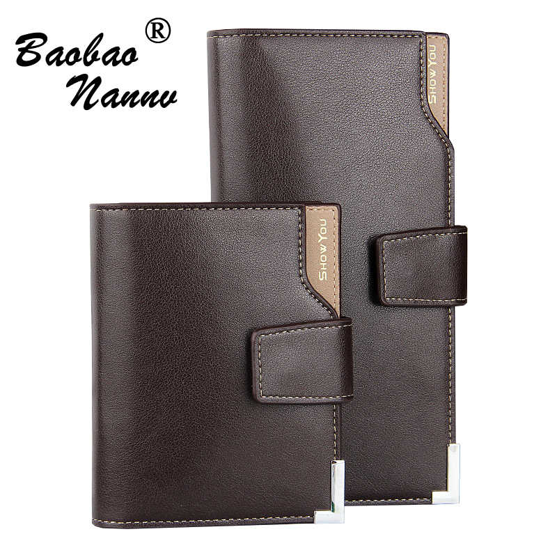 Man Luxury Brand Wallet Male Top Quality Small Purse Money Bag Multi Card Business Clutch Wallet For Boyfriend Husband