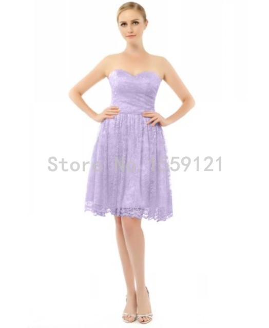 Lavender Short Lace Sparkly Bridesmaid Dresses 2017 Sexy Sweetheart Ruched Formal Wedding Party Maid Of Honor