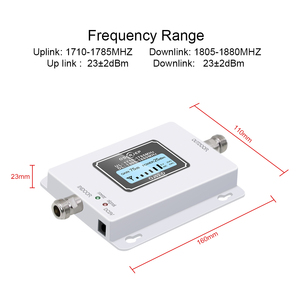 Image 3 - GSM LTE 1800 LCD 70dB Gain 2g 4g Cell Phone Signal Repeater DCS 1800MHz Mobile Amplifier GSM Cellular Signal Booster for Russia