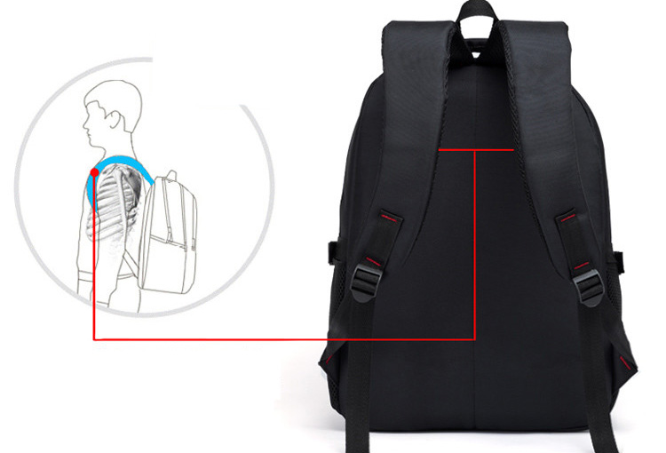 HTB1Xaf5gHvpK1RjSZFqxh7XUVXaV - New Men Multifunctional Large capacity Student Schoolbag Casual school Backpack Fashion Male Travel Oxford Man's Simple Bag