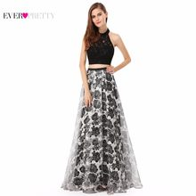 Prom Dress New Fashion A Line Ever Pretty Sleeveless EP08963BK Black Women  Sexy Halter Long Prom Dress 2018 8f51f927c71