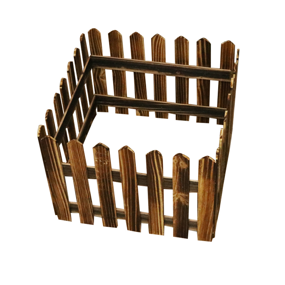 Simple Picket Fence: 1.6M Creative Decorative Eco Friendly Picket Fence Simple