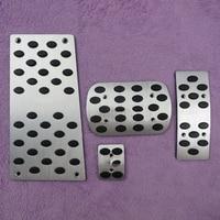 DEE Accesorio Del Coche Para TOYOTA PREVIA Automática De Aluminio Reposapiés Freno Acelerador de Pedal De Metal Pad Modificar Sticker Styling Placa