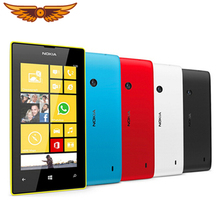 Nokia Lumia 525, двухъядерный, 3G, wifi, gps, 5 Мп камера, 1 ГБ ram, 8 Гб rom, 4,0 дюймов, разблокированные мобильные телефоны