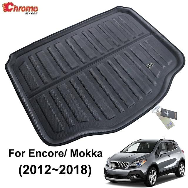 สำหรับBuick Encore/Opel/Vauxhall Mokka 2013 2014 2015 2016 2017 2018 Bootด้านหลังด้านหลังTrunk Cargoพรมรถอุปกรณ์เสริม