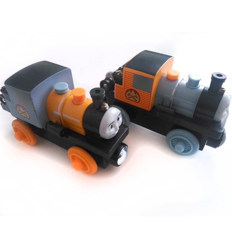 free shipping RARE Thomas And Friends BASH & DASH Wooden Magnetic Railway transportTrain Engine Track Boy /Kids Toy