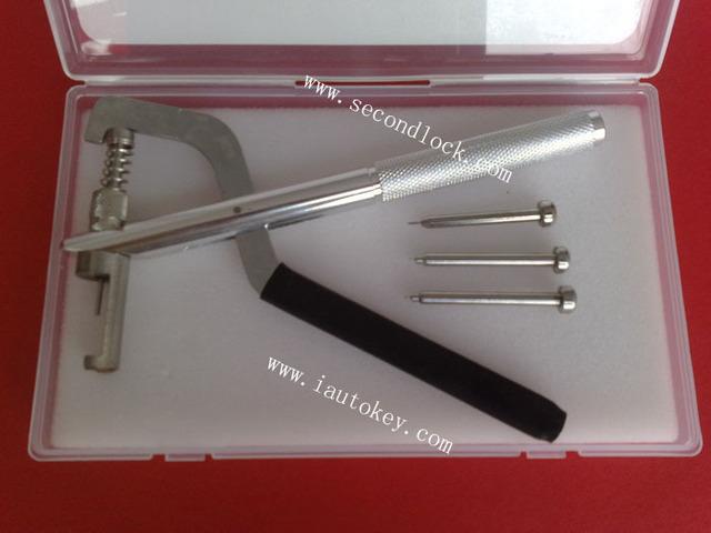 La alta calidad de cerrajería herramienta para Auto fold clave pasadores destuffing de los alicates