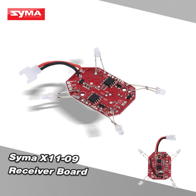 Оригинал Syma X11 часть платы приемника X11-09 для Syma X11 RC Quadcopter